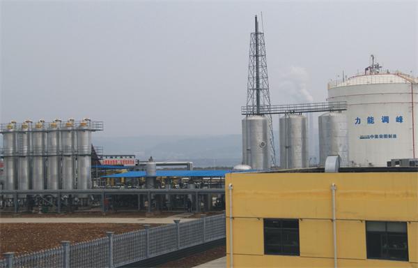 天然气储配调峰液化工厂