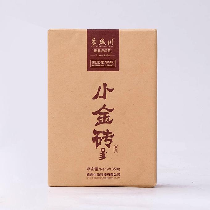 长盛川湖北青砖茶小金砖
