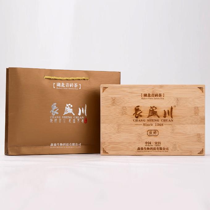 长盛川湖北青砖茶龙凤呈祥系列