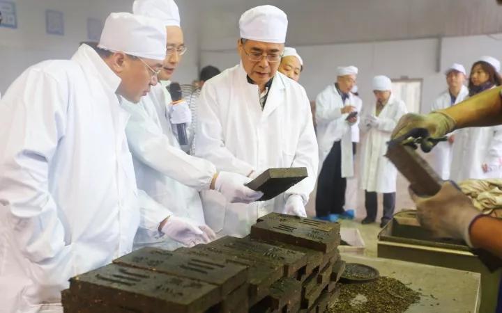 """文化部副部长项兆伦一行莅临""""长盛川""""考察调研"""