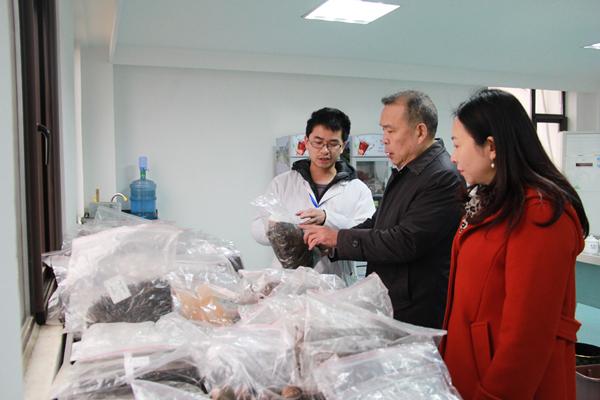 2019年1月9日,湖北省贸促会副会长张爱明莅临168彩票旗下168彩票生物科技有限公司,调研企业开拓海外市场的情况。