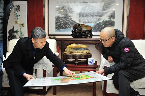 2019年2月2日(农历腊月二十八)下午,伍家岗区委书记李向东莅临168彩票,向集团送来新春问候和节日祝福。